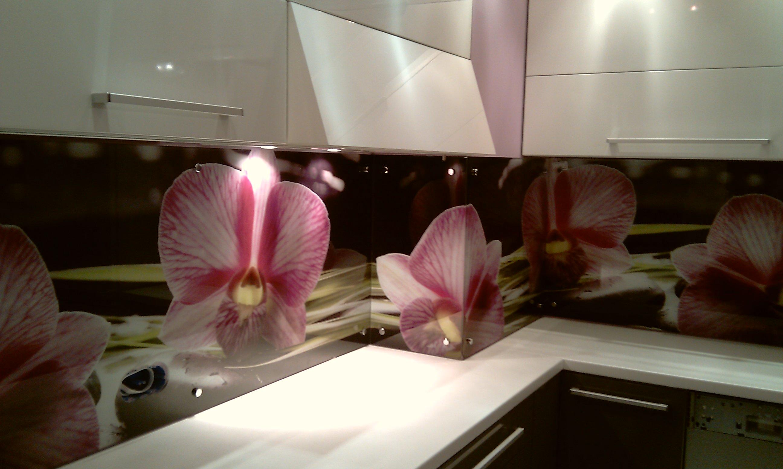 купить фартук для кухни с фотопечатью на стекле в севастополе